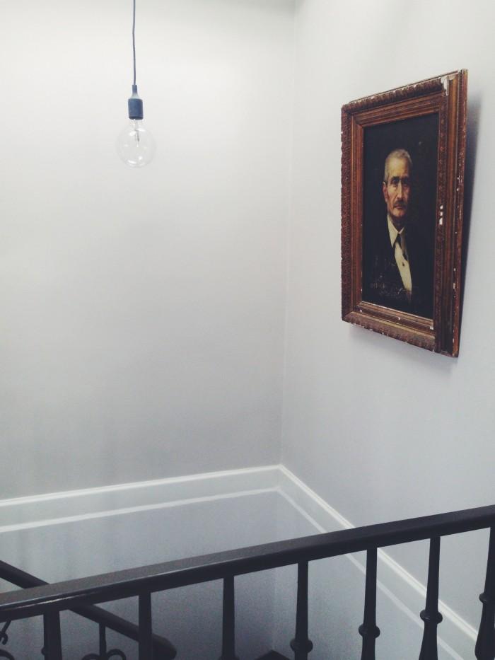hemma hos Maln Persson trappan tavla