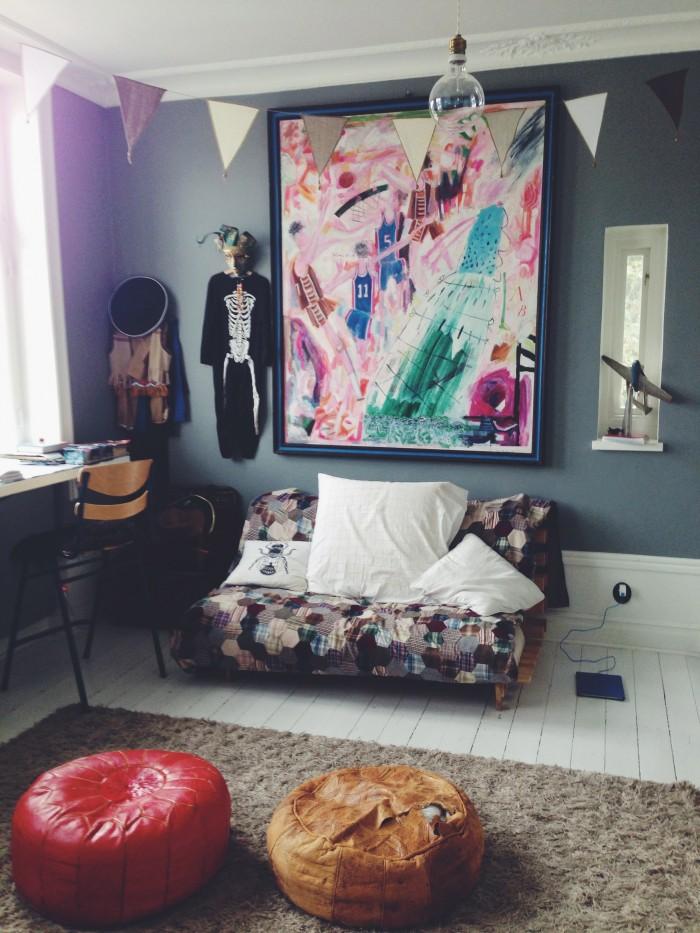 hemma hos Malin Persson pojkarnas lekrum