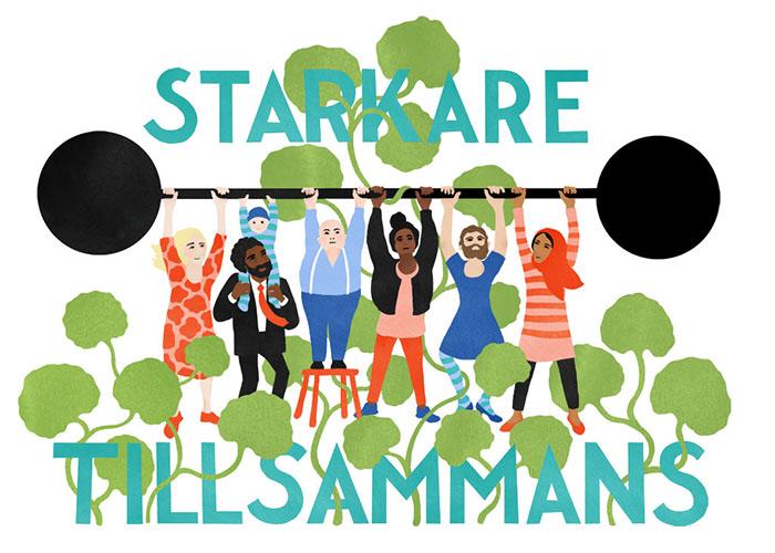 illustratorer mot rasism KarinRonmark