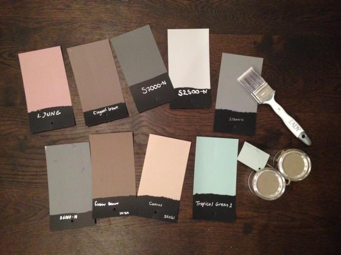 Farg prover hur valjer man farg mala om 33333