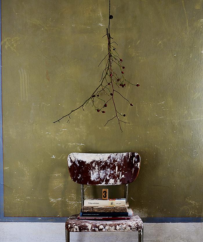 Hans Blomquist Debi Treloar In Detail gron vagg gammal stol stilleben