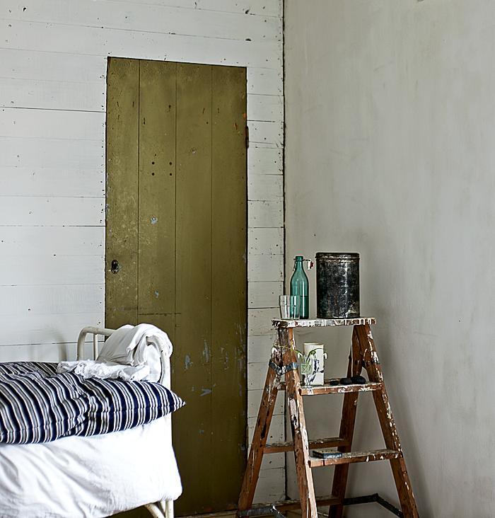 Hans Blomquist Debi Treloar In Detail sovrum gron dorr stege