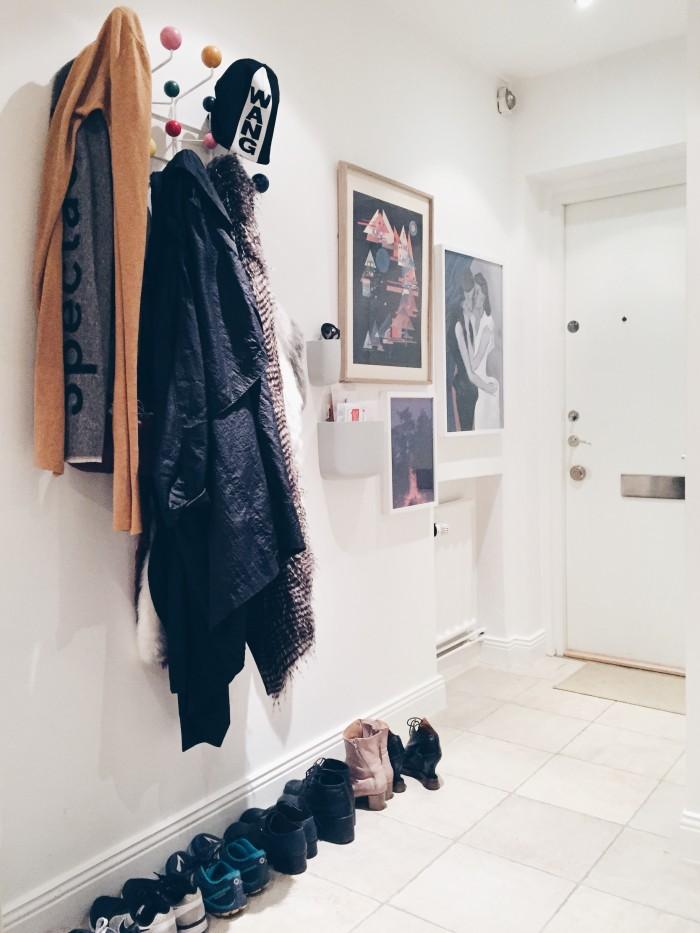 eames hang it all tavelvägg förvaring i hallen