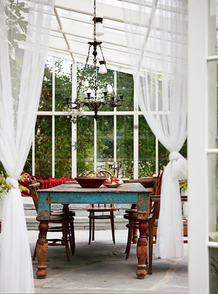 inspiration orangeri matplats bord gardiner