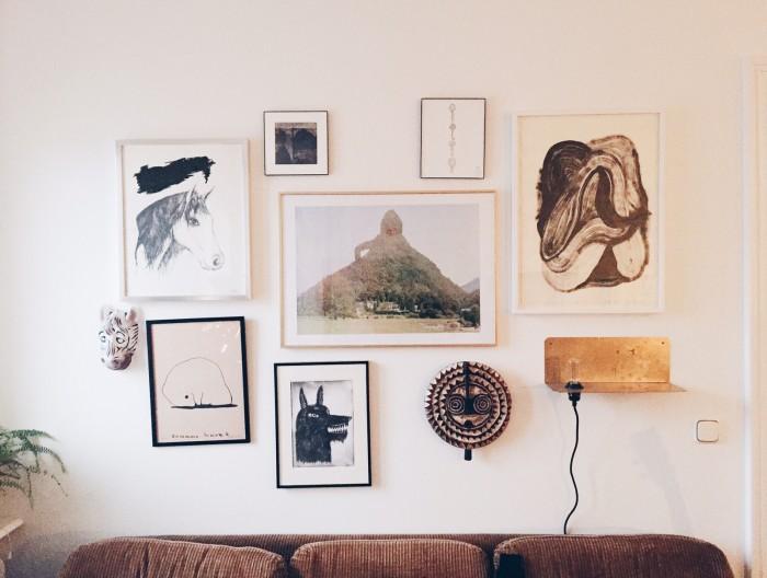 tavelvägg personliga tavlor hänga tavlor konst