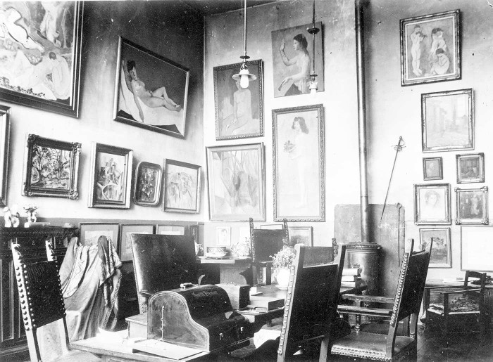 gertrude-stein-alice-b-toklas-apartment paris art
