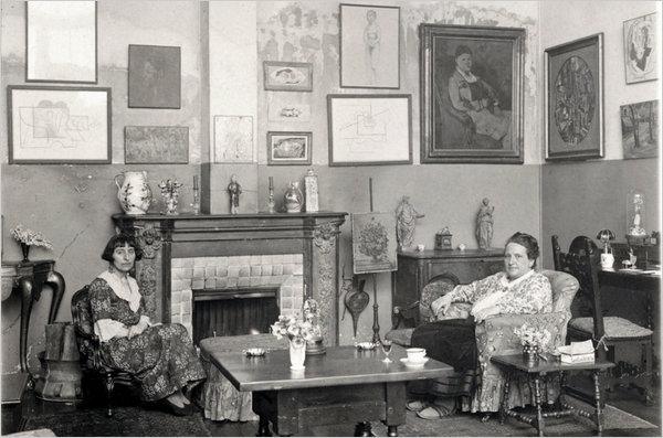 gertrude stein alice b toklas apartment in paris
