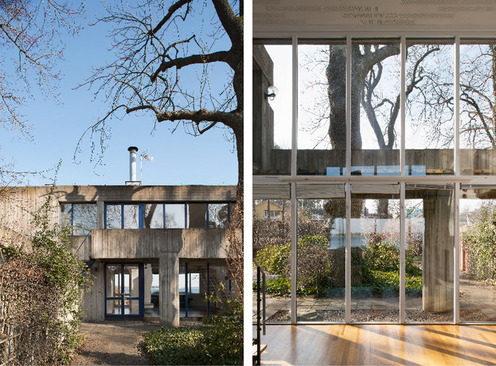 Leonie-(Lola)-Geisendorf-villa-betong-djursholm-utsikt-glasfonster