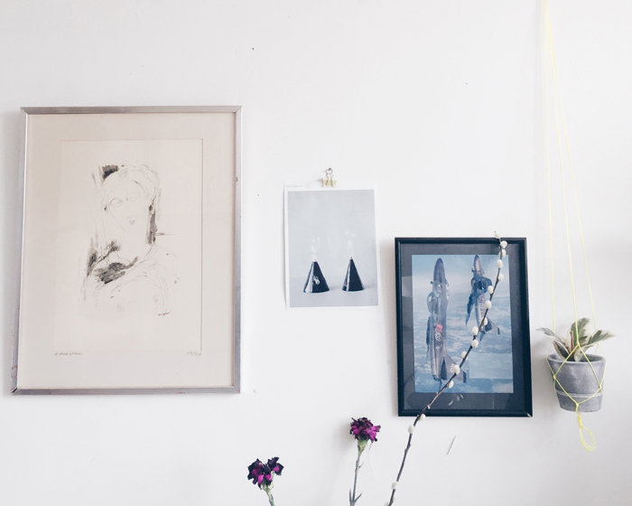 bohemisk-inredning-inspiration-blandad-tavelvagg