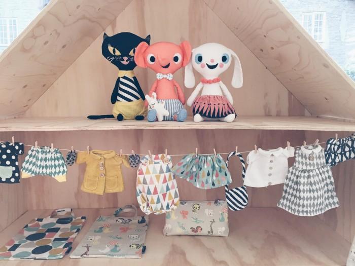 Littlephant höstnyheter 2015 dockor och dockkläder